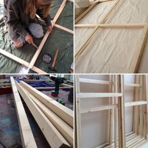 constructing stretchers